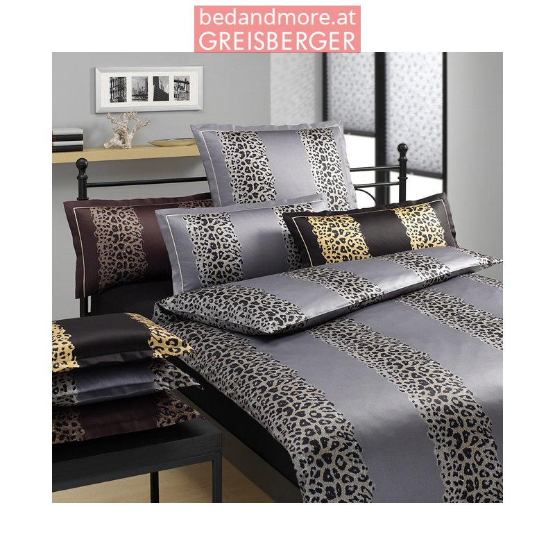 elegante bettw sche masura design 2994 schwarz gold 140x200 7. Black Bedroom Furniture Sets. Home Design Ideas