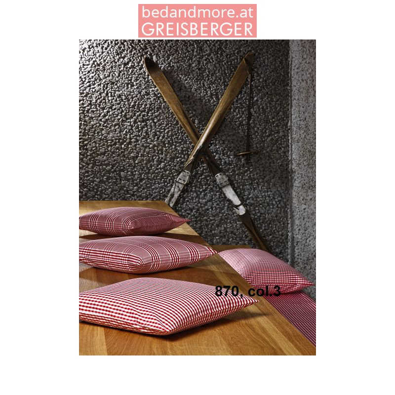 mary rose bettw sche 870 col 3 rot wei kariert 140x200. Black Bedroom Furniture Sets. Home Design Ideas