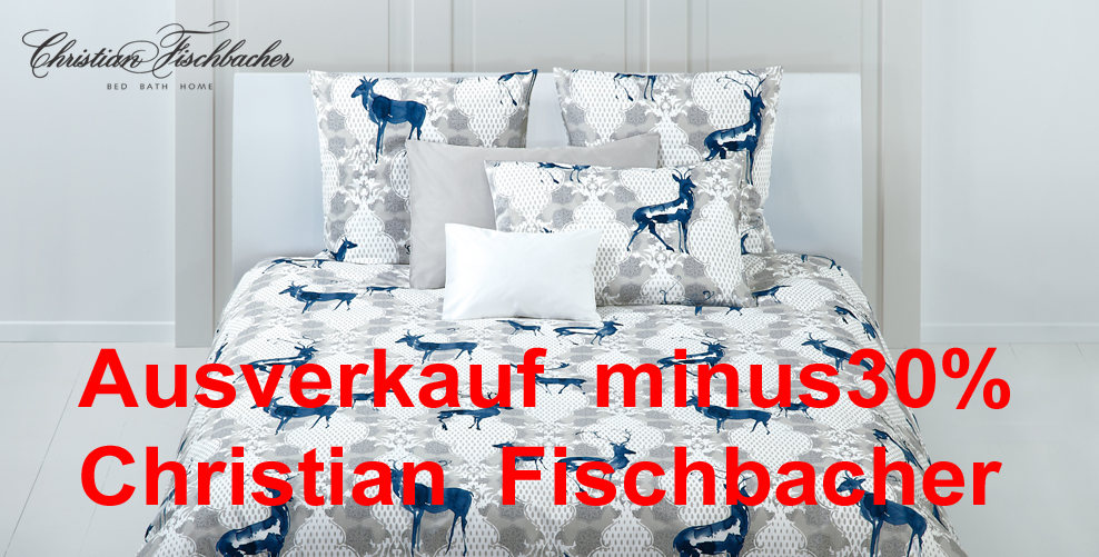 SALE Christian Fischbacher